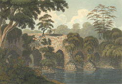 Ruins of a bridge [Gaur].